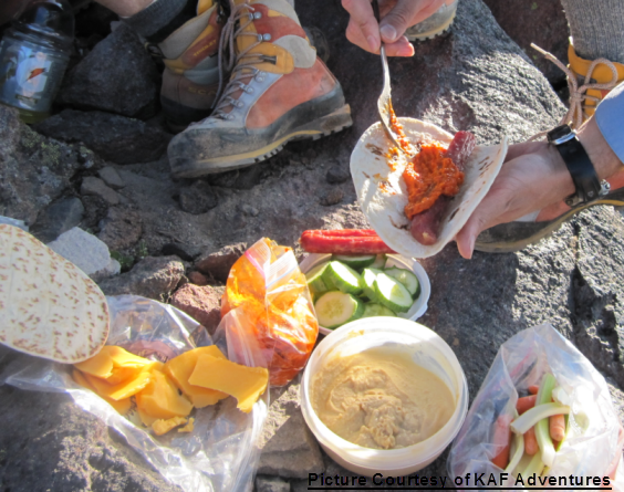 Backpacking recipes easy