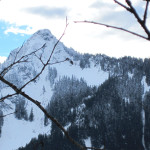 Five Female Snowshoers Assault Dirty Harry's Peak