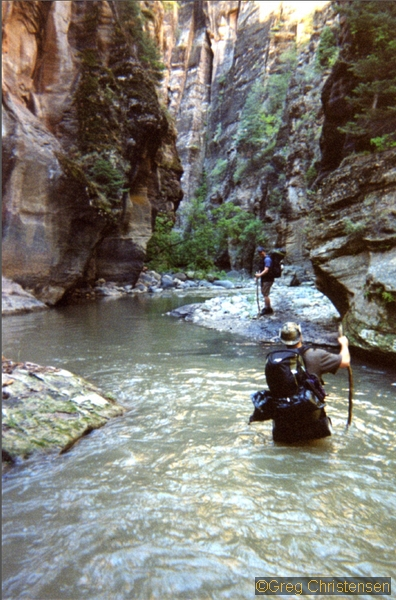 The Narrows Zion National Park Seattle Backpackers Magazine