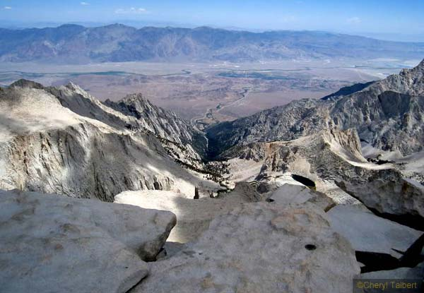 View East from Whitney summit