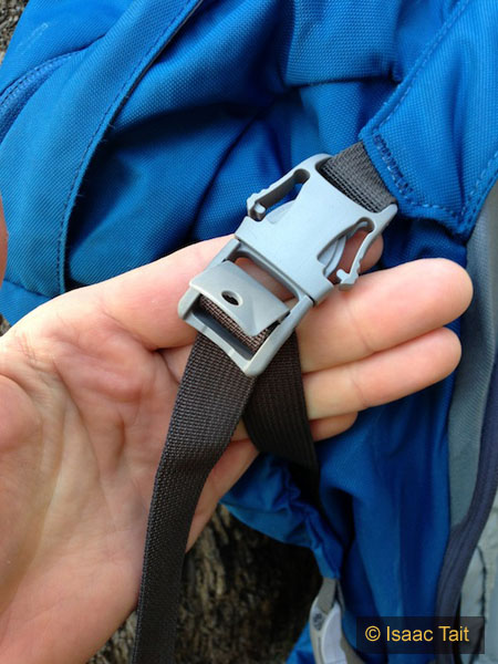 Lock down clasp, with glove friendly buckles