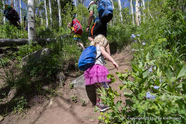 Gearing Up for Backpacking with Young Kids