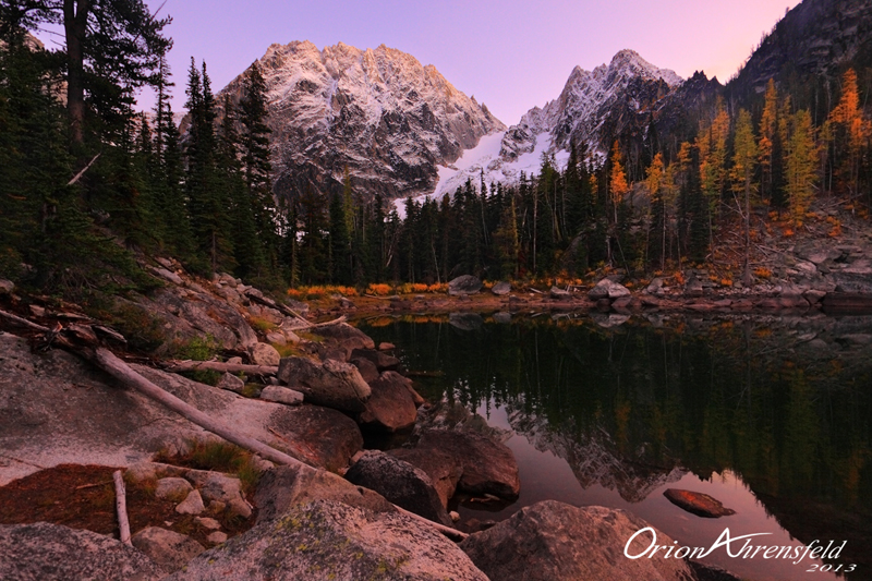 Colchuck Lake Twilight
