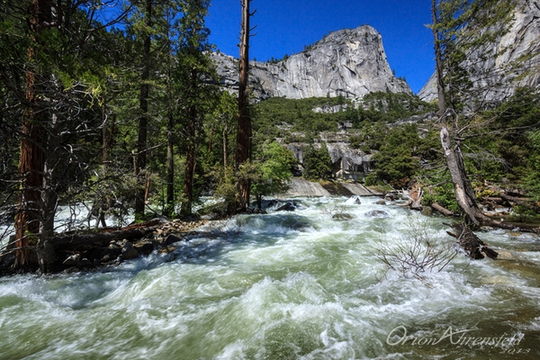mist trail_merced river above vernal falls_std