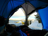 Backcountry Camping At Crater Lake National Park Photo Credit: Mauri Fabio