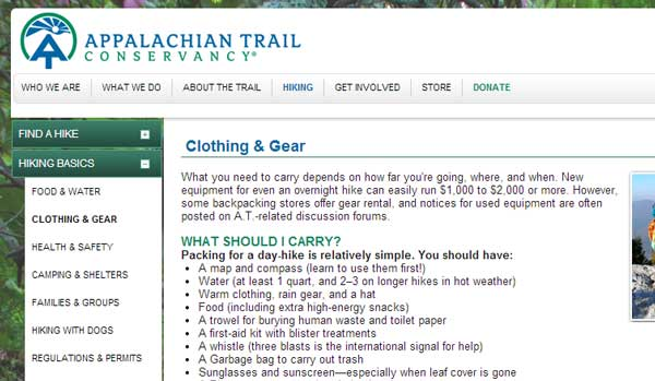 Appalachian-Trail-Conservancy-10-essentials