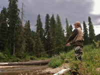 Fly Fishing on the North Fork of the Coeur d' Alene River
