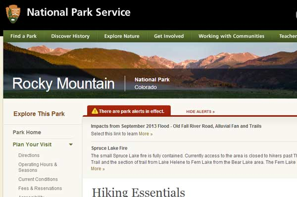 National-Park-Service-10-essentials