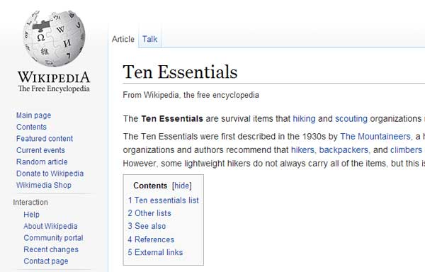Wikipedia-10-Essentials