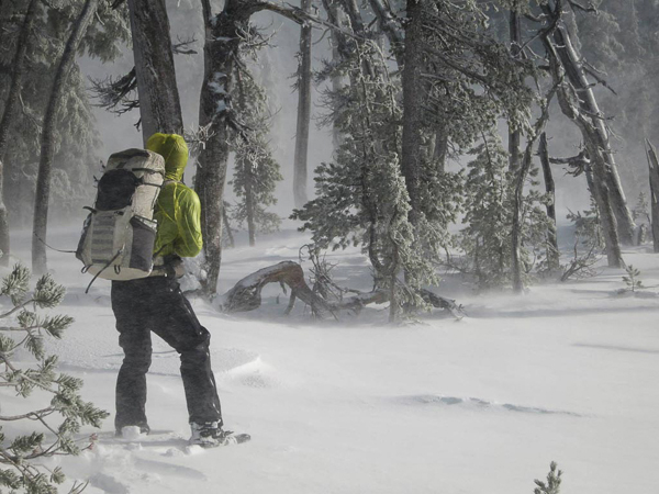 Winter conditions make route finding difficult on the PCT (Photo from pct.org)