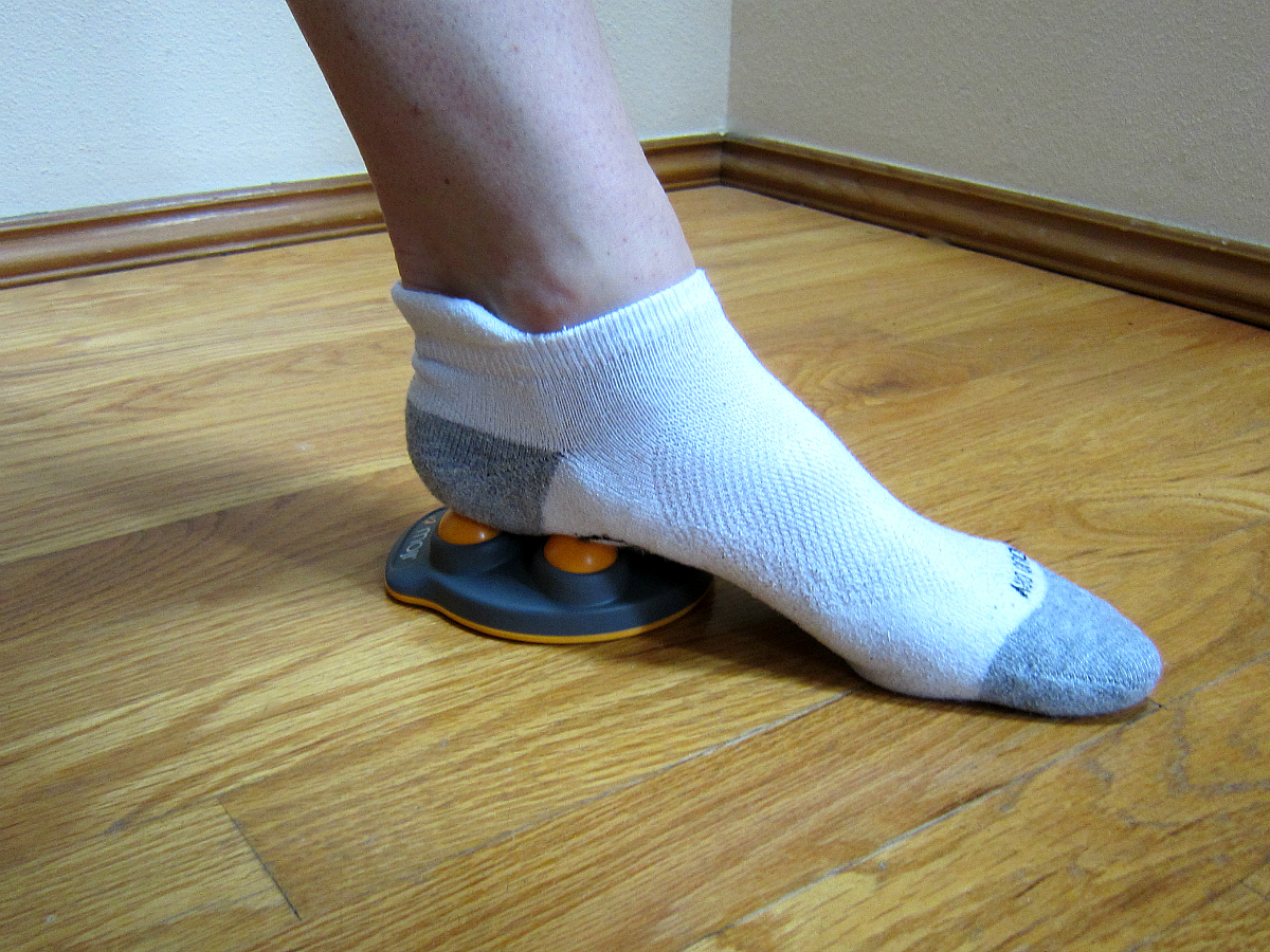 Moji Foot Massager on Heel