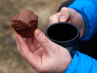 Baking on the Trail: Chocolate Muffins