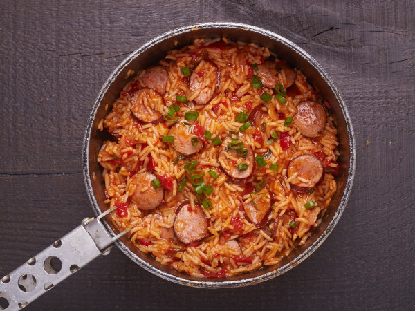 chicken sausage jambalaya old school chicken and sausage jambalaya ...