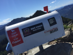 New Mailbox on Mailbox Peak