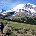 Shades of Mount Rainier on the Wonderland Trail