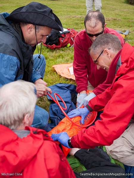 SAR First Aid Training