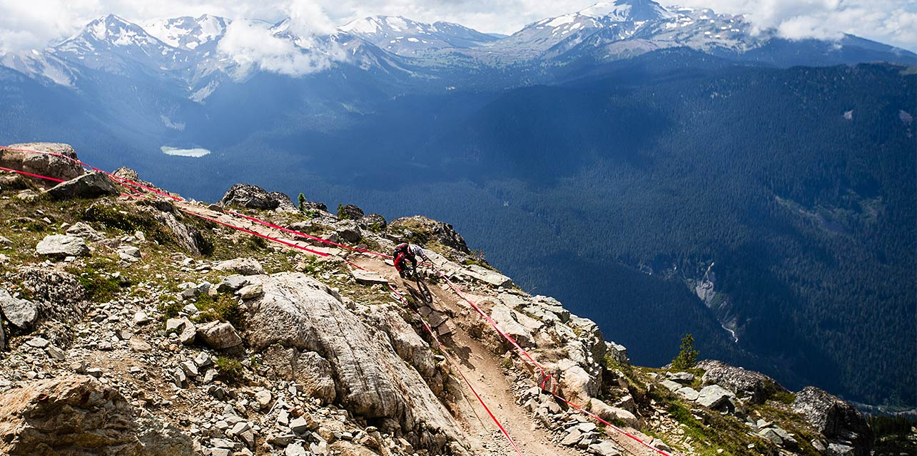 The Enduro World Series comprises multiple races in four countries and is part of the World Cup downhill racing series. Source: enduroworldseries.com