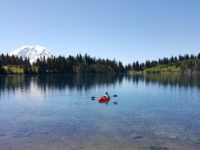 Backpack Kayaking – Alpine Lake Adventure