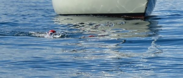 Puget Sound Open Water Swim Record