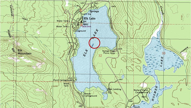 Topographic Map Seattle Orienting Your Topographic Map   Seattle Backpackers Magazine