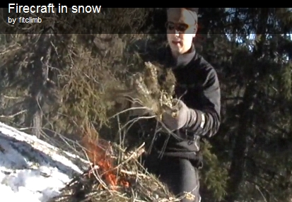 Snowshoe and Build a Fire