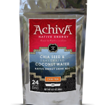 Achiva's Chia Seed and Dehydrated Coconut Water Native Energy Drink Mix Chai Tea
