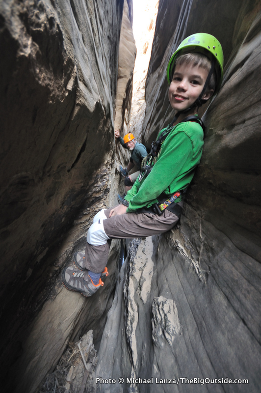 Slot Canyons with Kids
