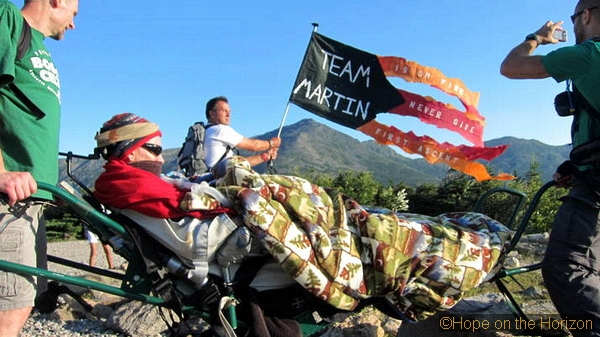 Hope on the Horizon – The March of Team Martin