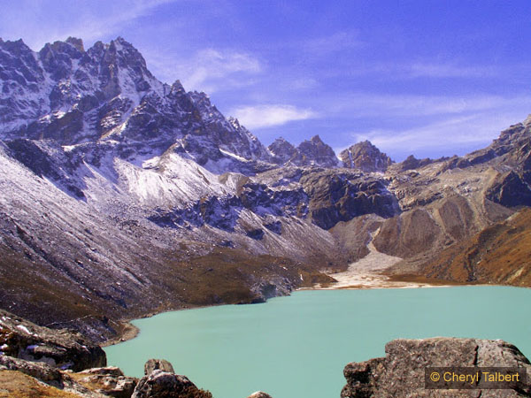 Final descent to Gokyo, Renjo La beyond