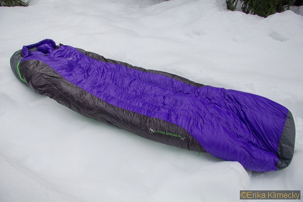 Big Agnes Lithia Spring DownTek Sleeping Bag Review