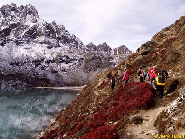Trekking in Nepal Part 2: Gokyo to Thame