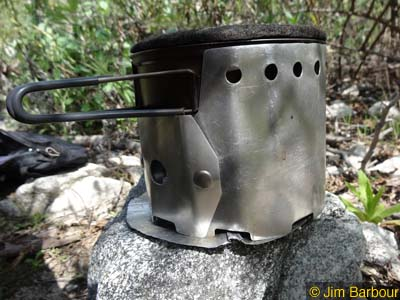 Ultralight Baking with the Bobcat Stove System