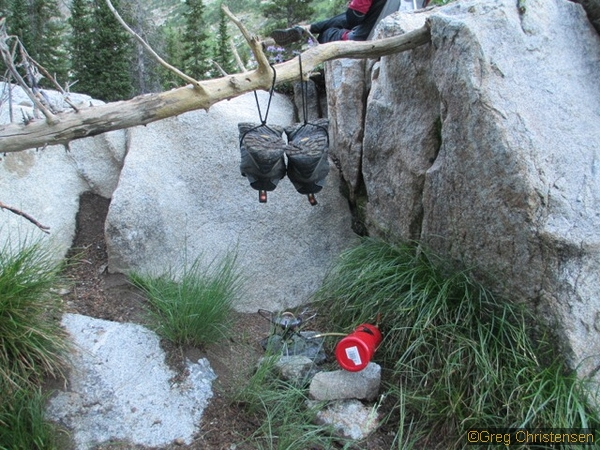 Inuit boot drying trick