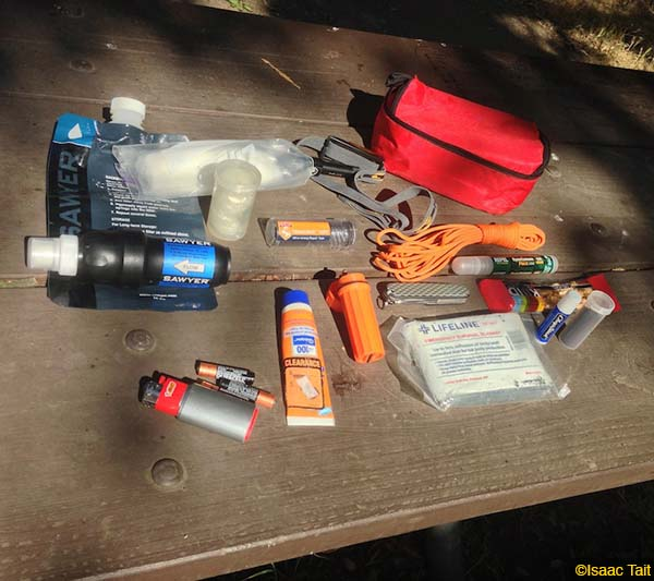 What's In Your Day Bag – Isaac Tait