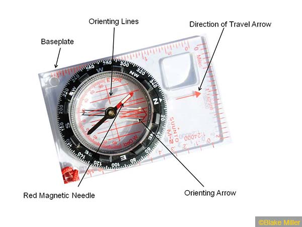Selecting A Magnetic Compass Seattle Backpackers Magazine