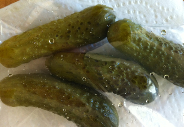 Backpacking Pickles