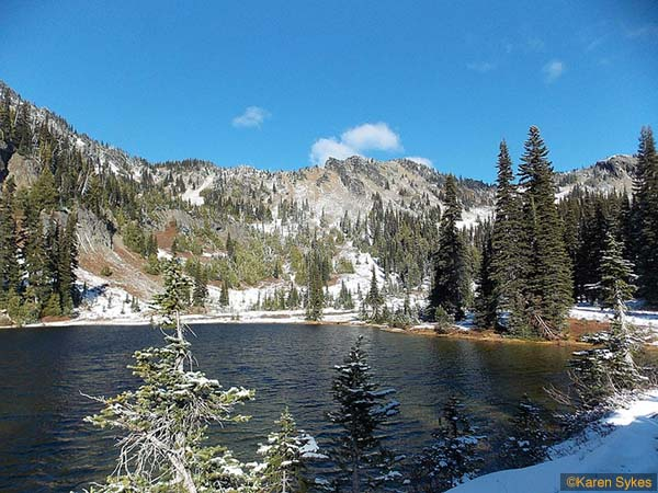 Sheep Lake – Sourdough Gap Via PCT NO. 2000