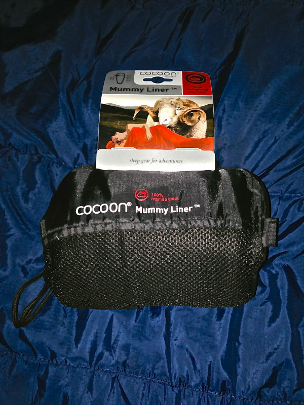 Cocoon Merino Wool Mummy Liner Review