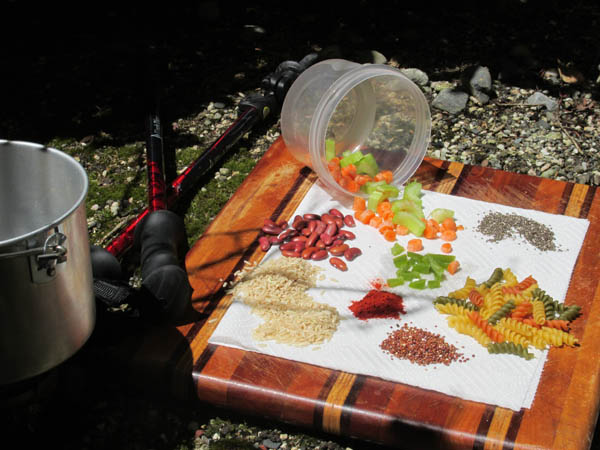Vegetarian and Vegan Hiking Food that Packs a Punch