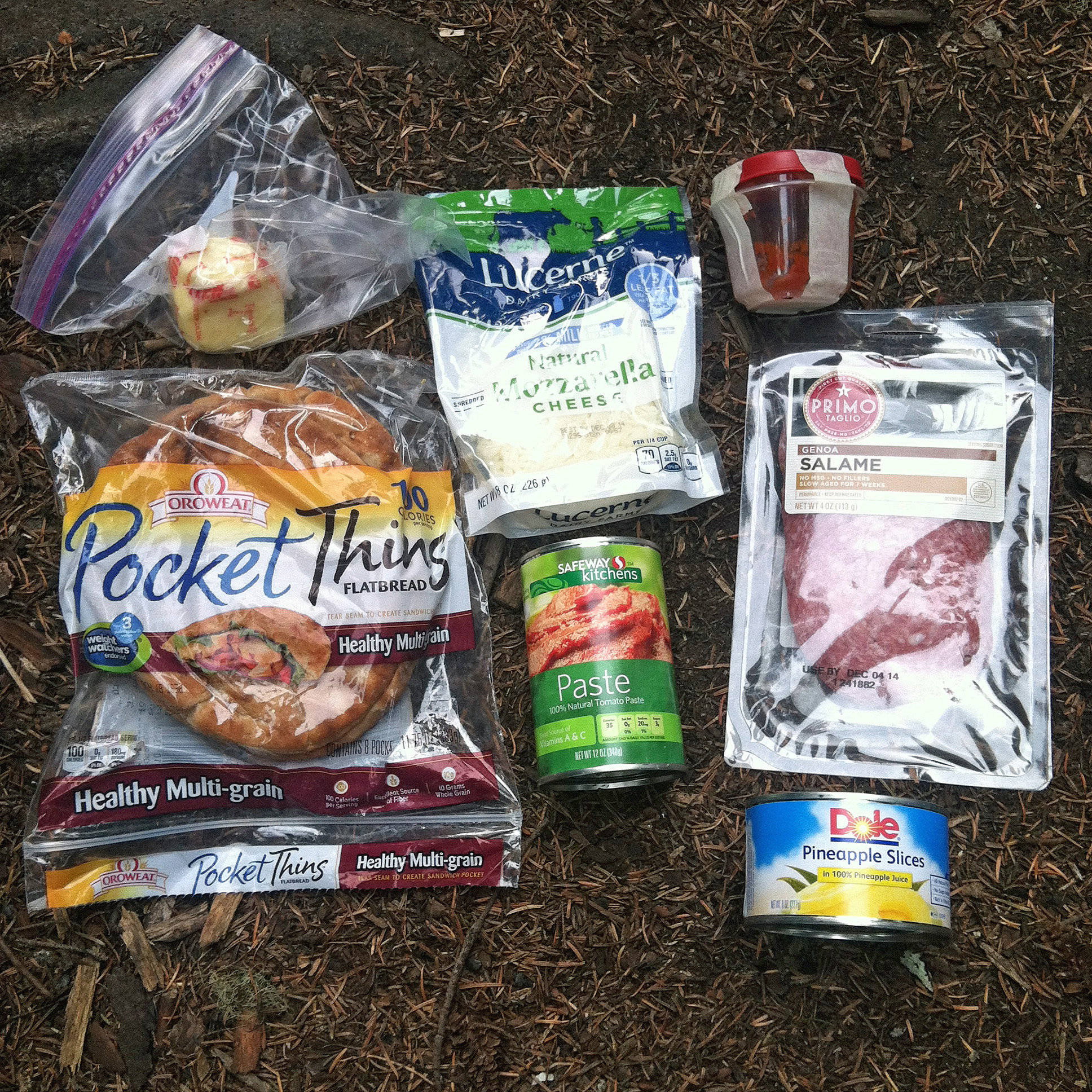 Backpacking Meals: Trail Pizza