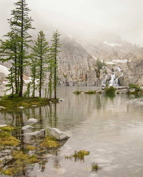Misty Lake: The Magic Of The Enchantments: Not Created By Giants And
