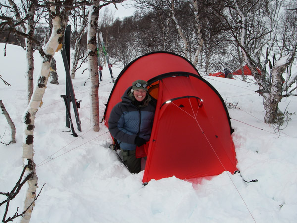 Many of Hilleberg tents are designed for all-season use u2013 photo courtesy Petra Hilleberg & Petra Hilleberg - The Quintessential Northwest Executive and Maker ...