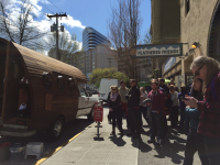 Seattleites Welcome the Patagonia Worn Wagon Tour