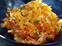Indian Carrot Salad from page 105