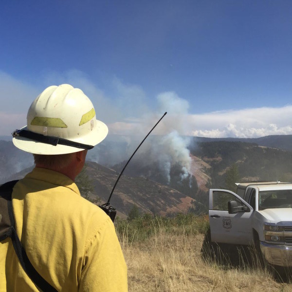 Wildfire Affects Pacific Crest Trail