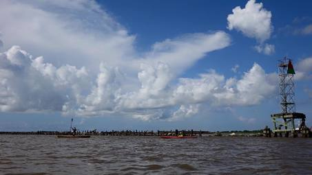 Mississippi River Paddle Record Set by 80-Year-Old