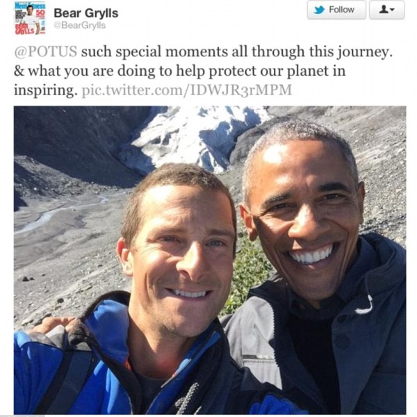 Obama Will Appear with Bear Grylls
