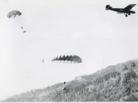Airborne beavers of Idaho parachute into the backcountry to start a new life.  Source: boisestatepublicradio.org