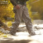 LL Bean Stowaway Ultralight Waders Review