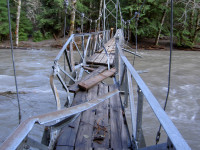 A Mount Rainier storm is anticipated to cause significant damage at the park. Source: mountrainierflood.blogspot.com